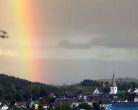Freienohl mit Regenbogen 352